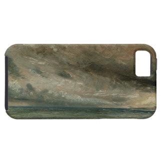 La costa en Brighton - tarde tempestuosa, c.1828 Funda Para iPhone SE/5/5s