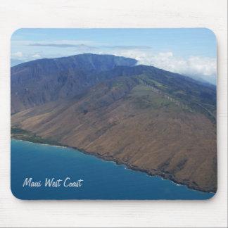 La costa oeste de Maui Alfombrilla De Ratón