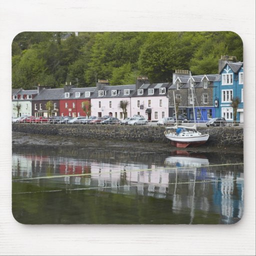 La costa, Tobermory, isla de reflexiona sobre, Esc Tapetes De Raton