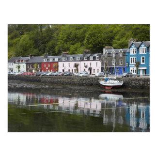 La costa, Tobermory, isla de reflexiona sobre, Esc Tarjetas Postales