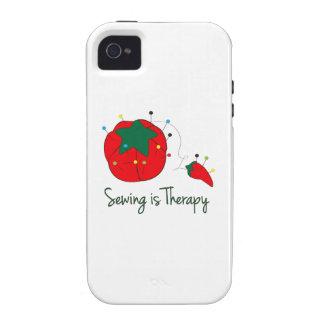 La costura es terapia Case-Mate iPhone 4 carcasas