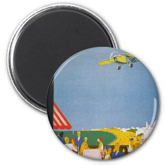 La Cote Basque Par Avion Fridge Magnets