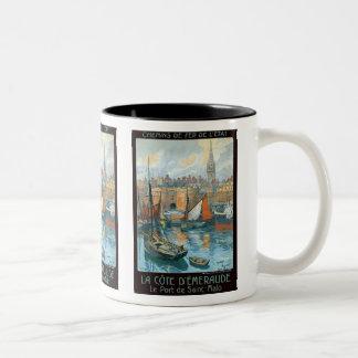 La Côte d' Émeraude Coffee Mugs