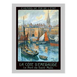 La Côte d' Émeraude Post Card