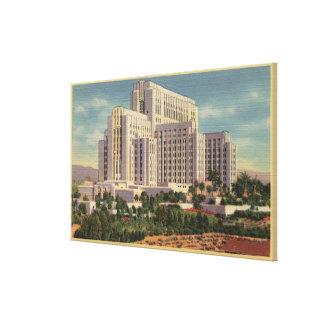 LA County General Hospital Canvas Print