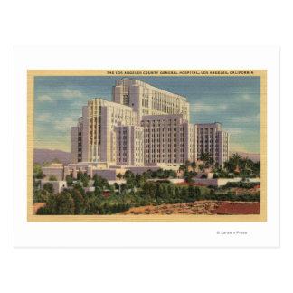 LA County General Hospital Postcard