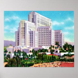 LA County General Hospital Poster