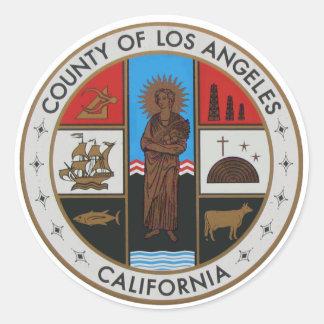 LA County Seal Sticker