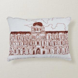 La Cour Carree Courtyard | Louvre, Paris, France Accent Pillow