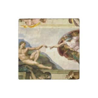 La creación de Adán por la bella arte de Miguel Imán De Piedra