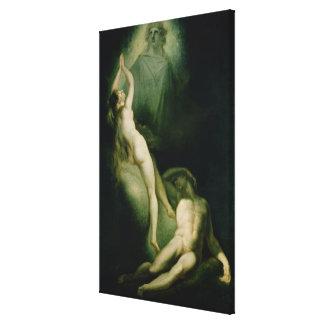 La creación de Eve, 1791-93 Impresiones En Lona Estiradas