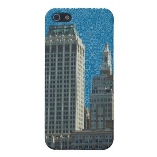 La creatividad de la ciudad iPhone 5 protectores