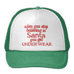 La creencia en Santa o consigue la ropa interior Gorro De Camionero