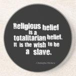 La creencia religiosa es una creencia totalitaria posavasos manualidades