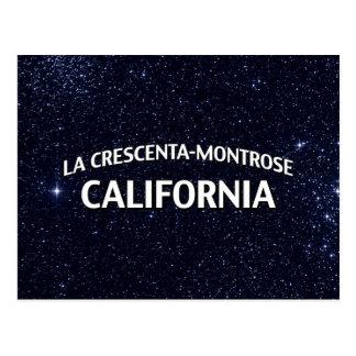 La Crescenta-Montrose California Postcard
