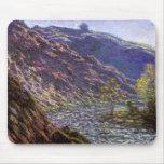 La Creuse menuda, luz del sol de Monet, bella arte Tapete De Ratón