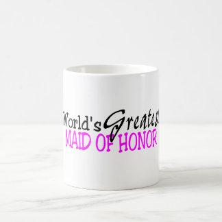 La criada más grande de los mundos del honor tazas