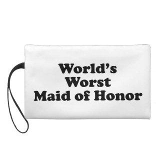 La criada peor del honor del mundo