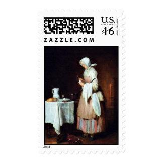 La criada que cuida de Chardin Jean-Baptiste Siméo Envio