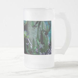 La criatura desconocida del mar taza cristal mate