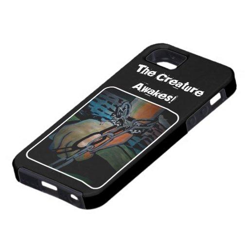 """""""La criatura se despierta!"""" caso del iPhone iPhone 5 Case-Mate Fundas"""