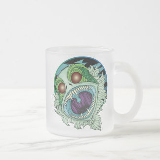 La criatura taza de cristal