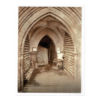 La cripta de la iglesia, Hythe, Inglaterra Photoch Postal