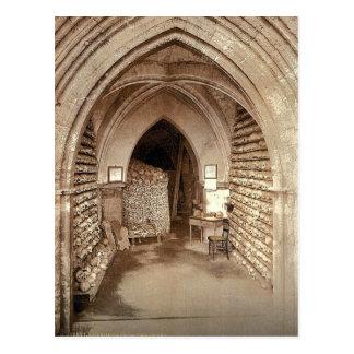 La cripta de la iglesia, Hythe, Inglaterra Photoch Tarjetas Postales