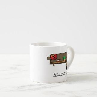 La crisis de identidad, tomate considera al psiqui taza espresso