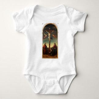 La Crocifissione by Joseph Ernst Tunner Baby Bodysuit