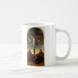 La Crocifissione by Joseph Ernst Tunner Classic White Coffee Mug