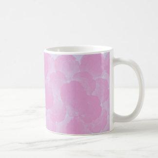 La croma rosada subió florece taza