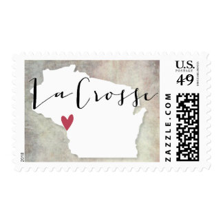 La Crosse, Wisconsin postage stamp