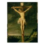 La crucifixión 2 tarjetas postales