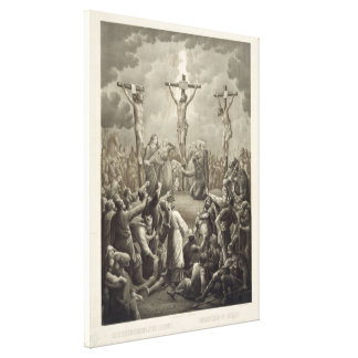 La crucifixión de Cristo muere Kreuzigung Jesu Lona Envuelta Para Galerías