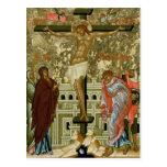 La crucifixión de nuestro señor postal