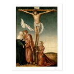 La crucifixión (el panel) postal