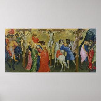 La crucifixión impresiones