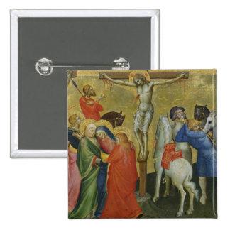 La crucifixión pin cuadrada 5 cm