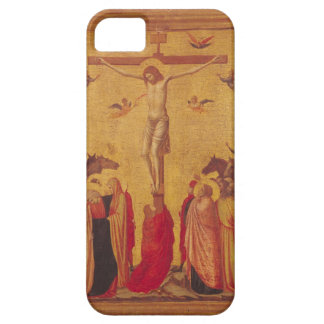 La crucifixión (tempera en el panel) iPhone 5 funda