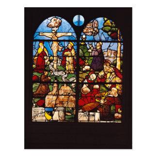 La crucifixión y el monte de los Olivos, 1533 Tarjeta Postal