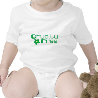 La crueldad libera diseño floral trajes de bebé
