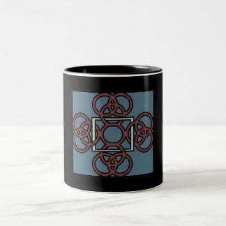 la cruz céltica de los lacie taza