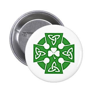 La cruz céltica de St Patrick Pins