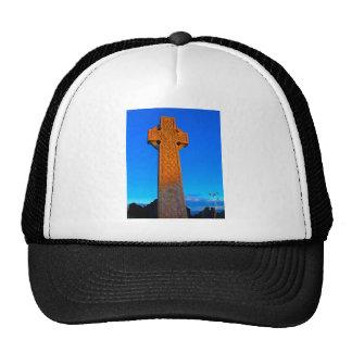 La cruz céltica gorro de camionero