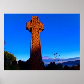 La cruz céltica póster