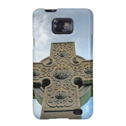 La cruz céltica Samsung encajona Samsung Galaxy S2 Carcasa