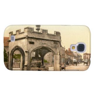 La cruz, Cheddar, Inglaterra Funda Para Galaxy S4