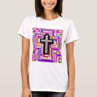La cruz cristiana religiosa playera
