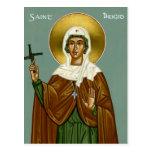 La cruz de Brigid del santo